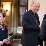 Zahájení výstavy o kardinálu Špidlíkovi v Senátu